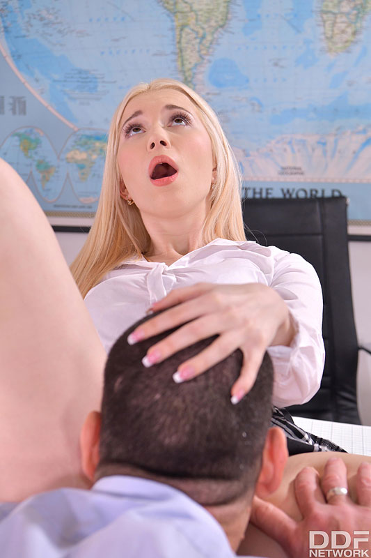 Euro Teen Erotica Roxy Risingstar - Blonde Schoolgirl's Lessons In Penetration 6