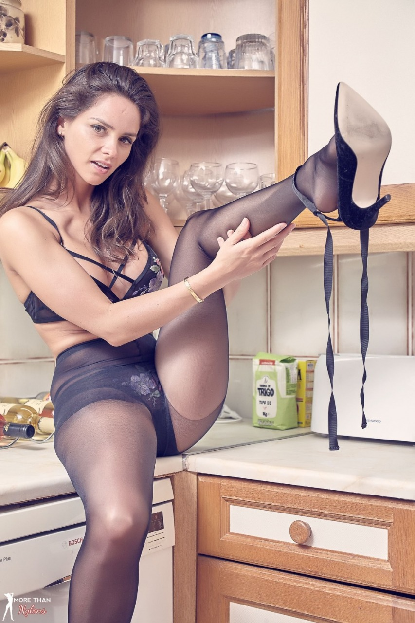 More Than Nylons: Adele Taylor - Sexy Smoothie 4