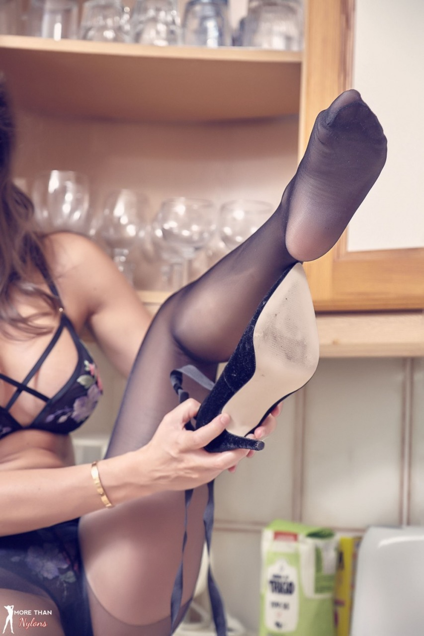 More Than Nylons: Adele Taylor - Sexy Smoothie 6