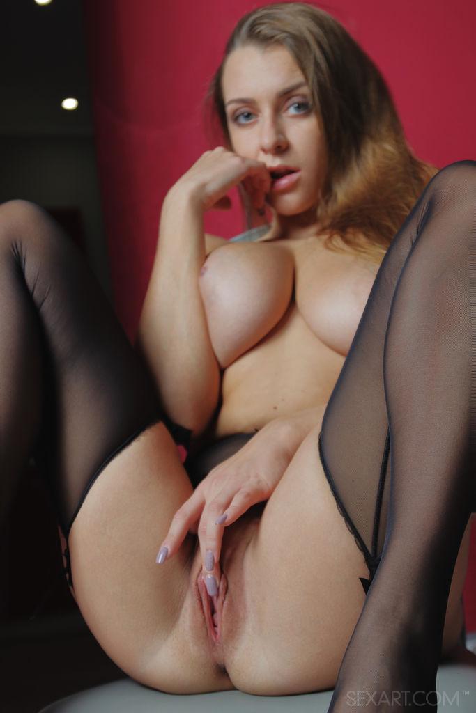 Sex Art: Josephine Jackson Stocking Goddess 3