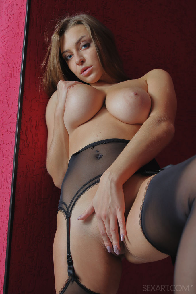 Sex Art: Josephine Jackson Stocking Goddess 8