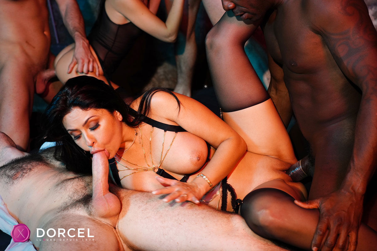 Dorcel Club - Mariska X Hardcore Orgy 3