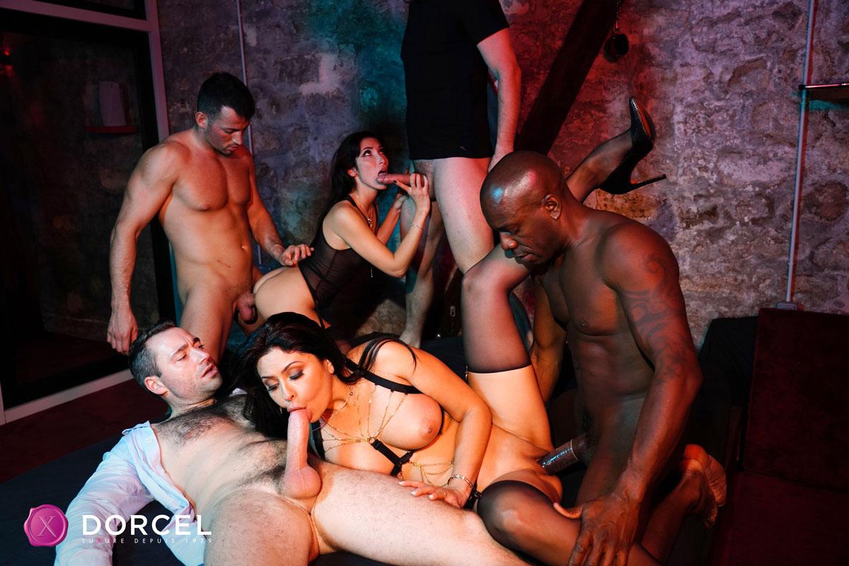 Dorcel Club - Mariska X Hardcore Orgy 6