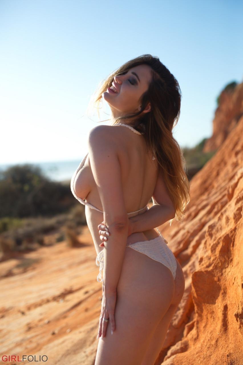 Girlfolio: Gabriella Knight - Bikini Shoot 3