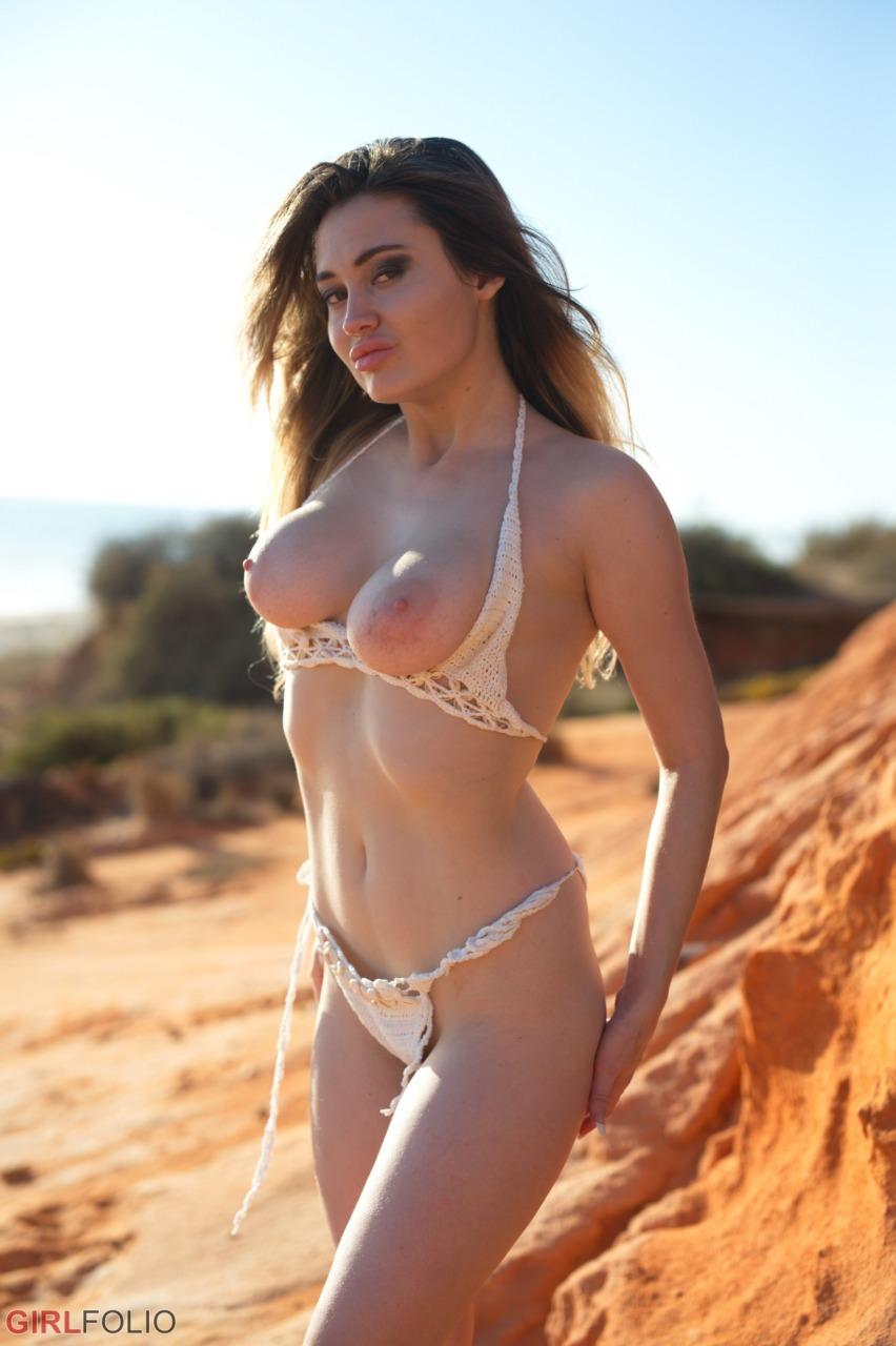 Girlfolio: Gabriella Knight - Bikini Shoot 7