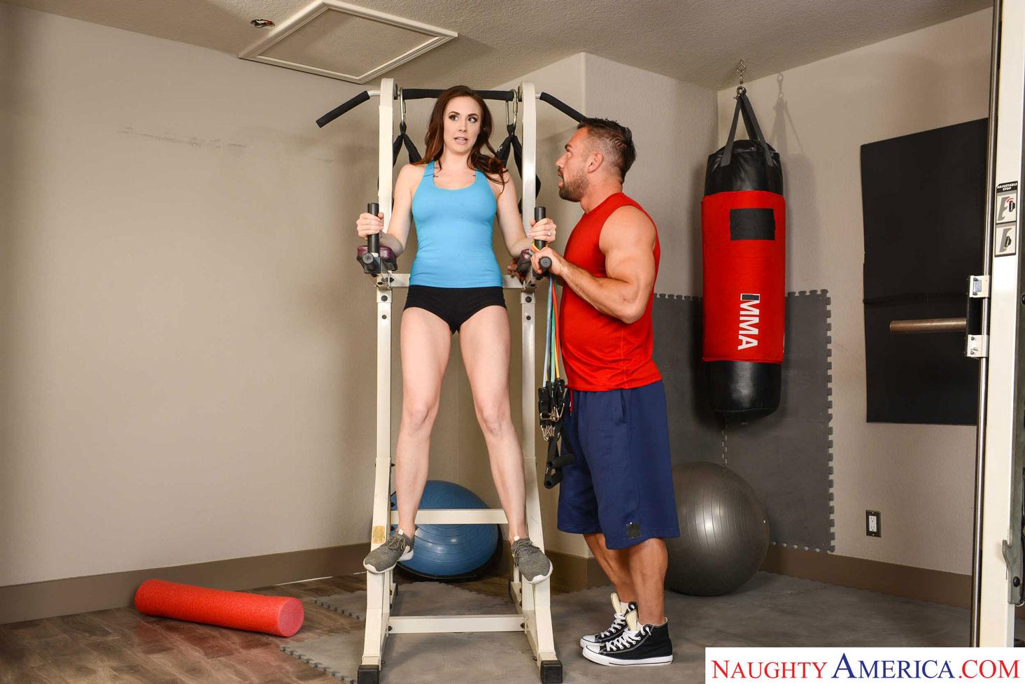 Naughty America - Chanel Preston Fucks Her Personal Trainer 1