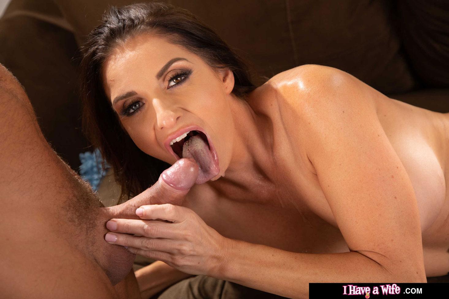 Naughty America - Silvia Saige Maid Fucks her Boss 12