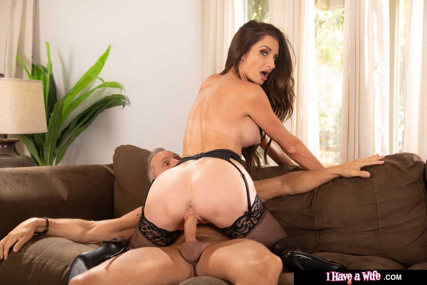 Naughty America - Silvia Saige Maid Fucks her Boss 8