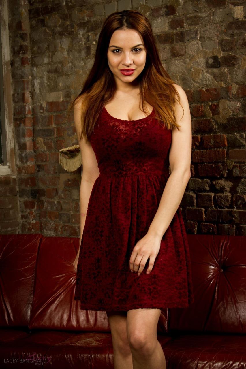 Lacey Banghard - Red Sofa 3