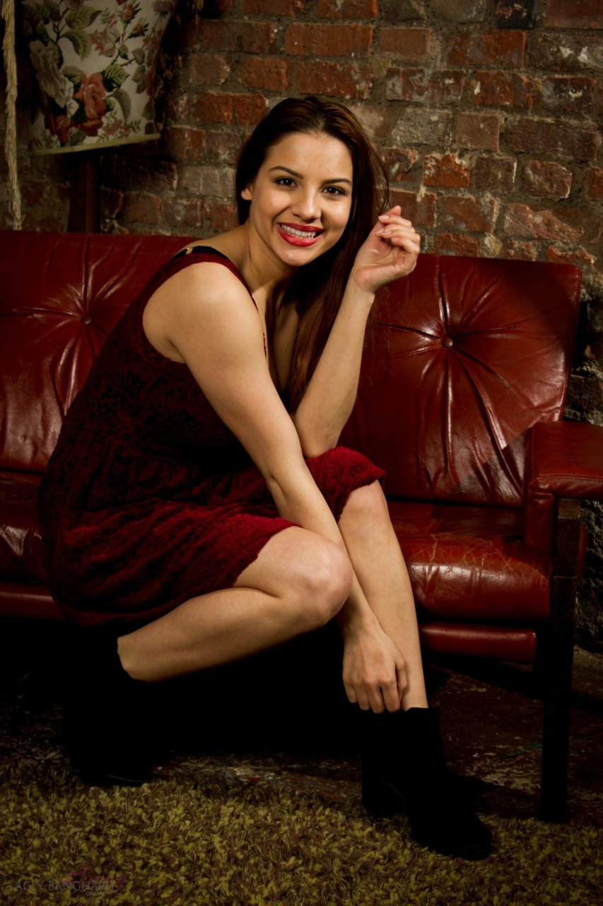 Lacey Banghard - Red Sofa 5