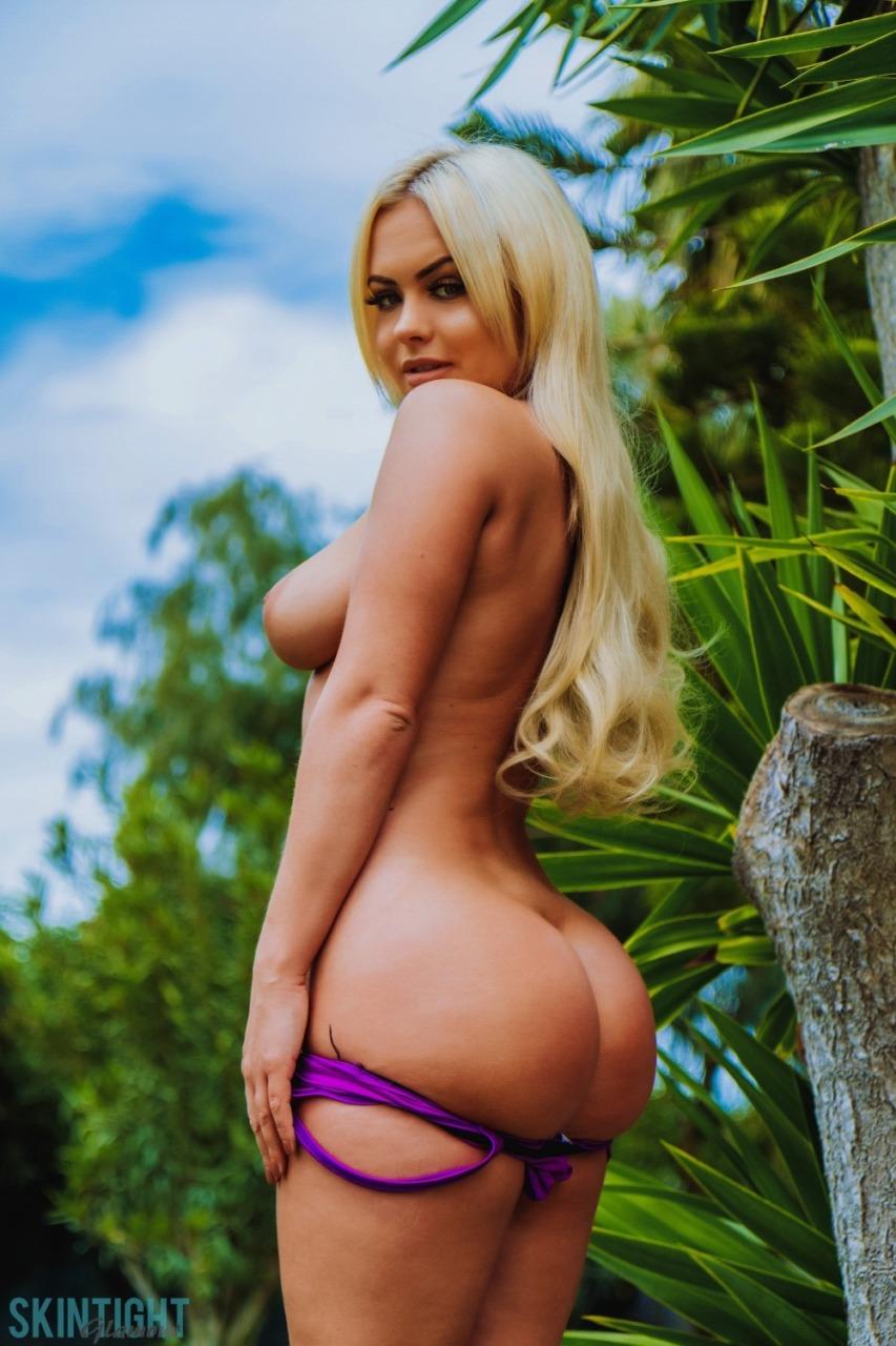 Skin Tight Glamour: Sara Louise - Perfect In Purple 10
