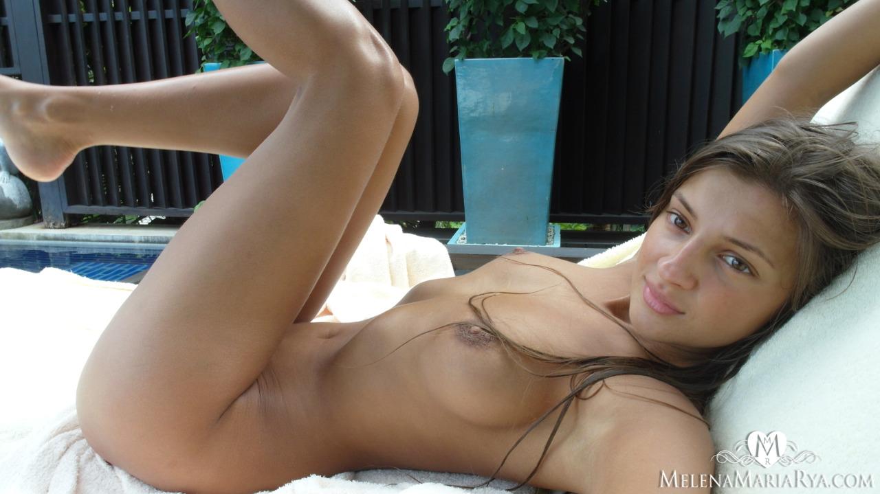 Pool time with Melena Maria Rya