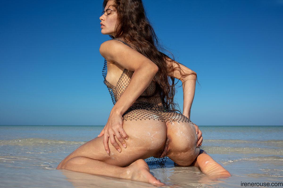 Irene Rouse Wet Beach Latina 9