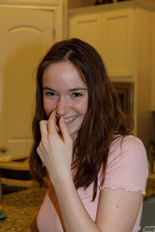 Zishy: Hazel Moore in Undies 1