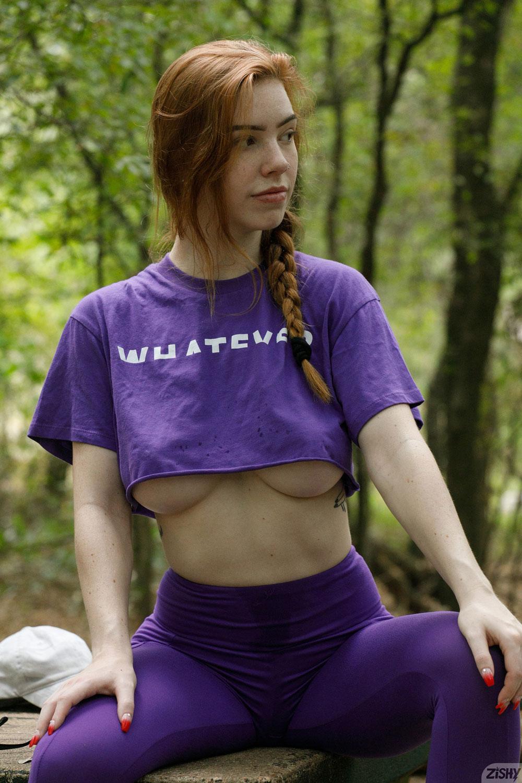 Zishy: Nala Brooks Hard Boobs in the Park 10