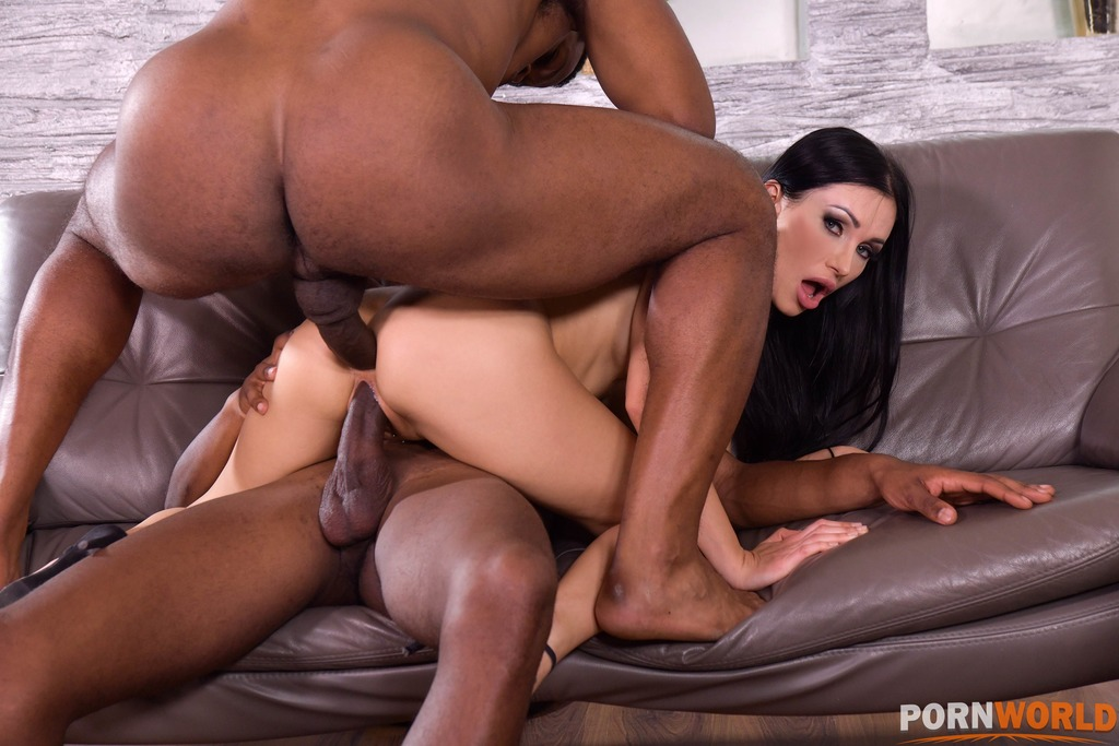 Twisted Sister Calls Over 2 Black Plumbers to Unclog All Her Holes GP1787 6