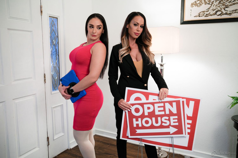 Girlsway - McKenzie Lee & Sheena Ryder in Tastes in Common 1