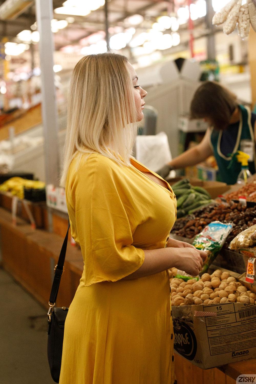 Zishy: Ivanna Ershova in Yellow 3
