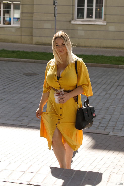 Zishy: Ivanna Ershova in Yellow 5