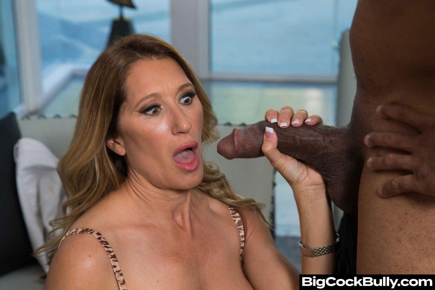Girlsway - Sloan Rider Takes a Big Black Cock 2