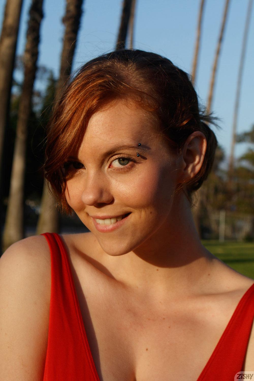 Zishy: Kayla Coyote Fun Redhead 3