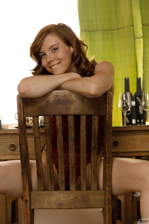 Zishy: Kayla Coyote Fun Redhead 5