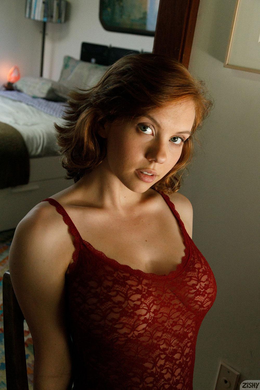 Zishy: Kayla Coyote Fun Redhead 7
