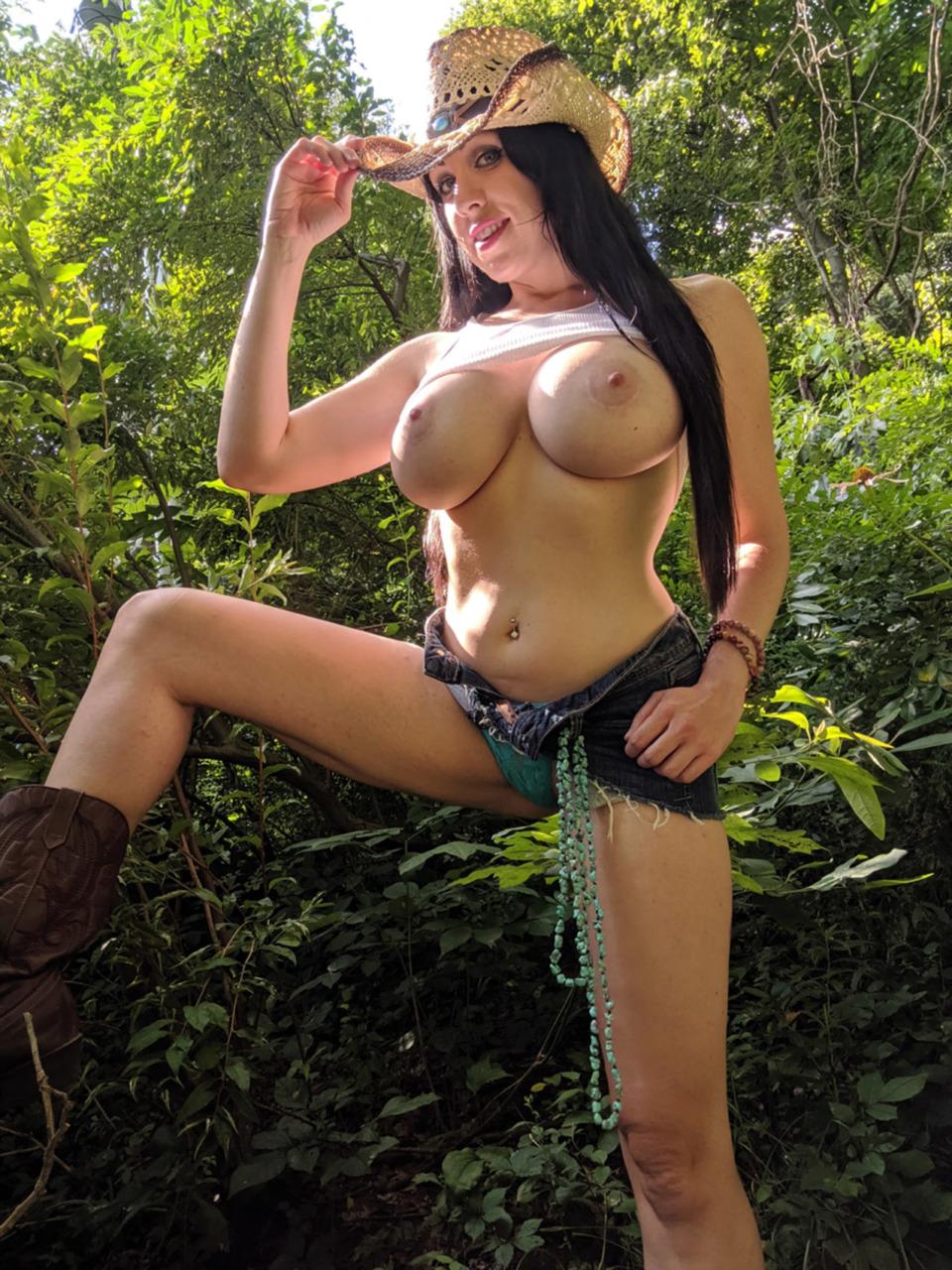 Kayla Kiss - The Busty Cowgirl 9