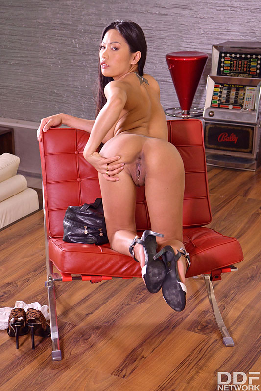 Hands on Hardcore: Thomas Stone & Josh & Vince Karter & Polly Pons - Busty Asian Polly Pons Has a Pussy as Tight as Her Tits are Big 4
