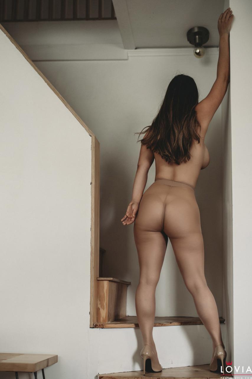 Eva Lovia - Stairs and Stockings 2