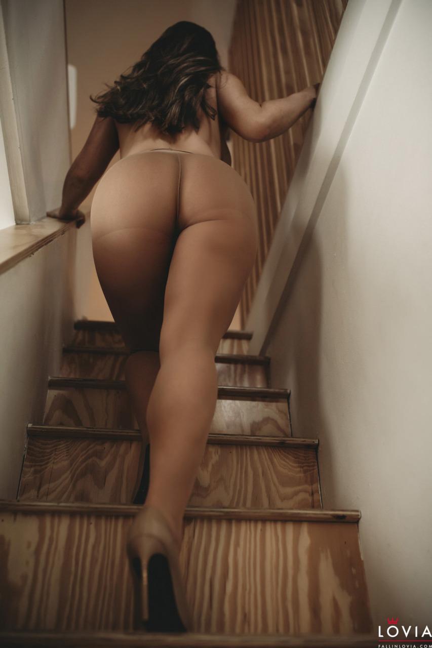 Eva Lovia - Stairs and Stockings 11