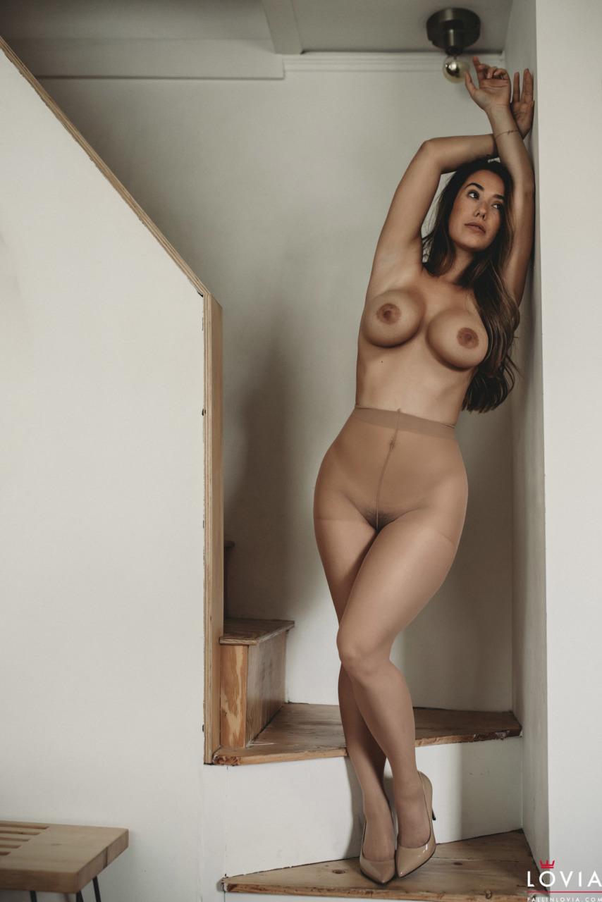 Eva Lovia - Stairs and Stockings 3