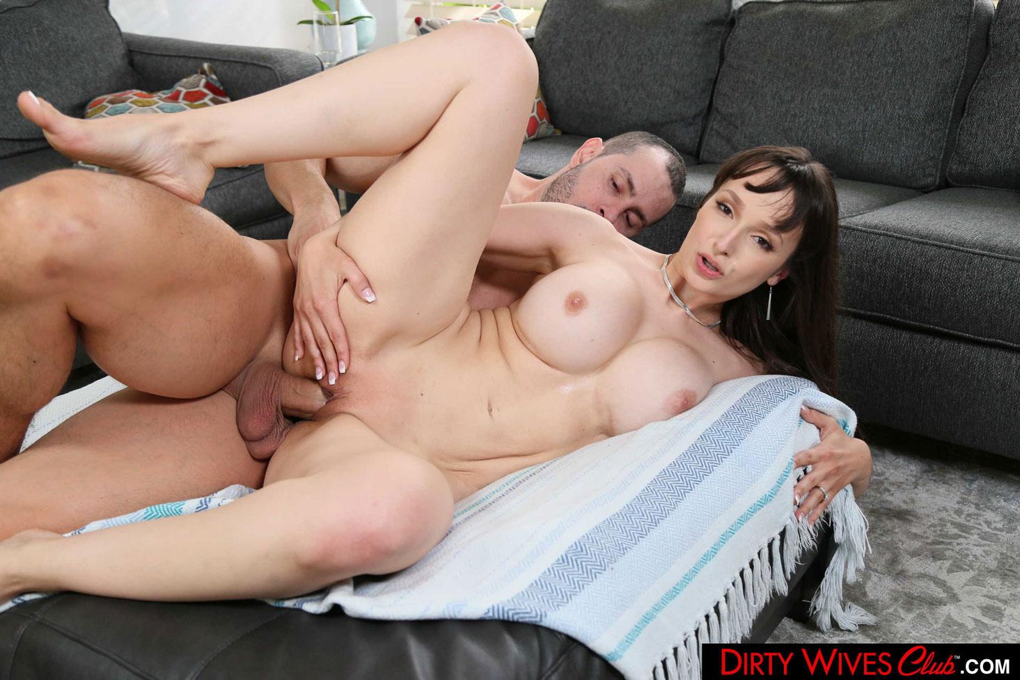 Girlsway - Lexi Luna Dirty Wife Rides Big Cock 11