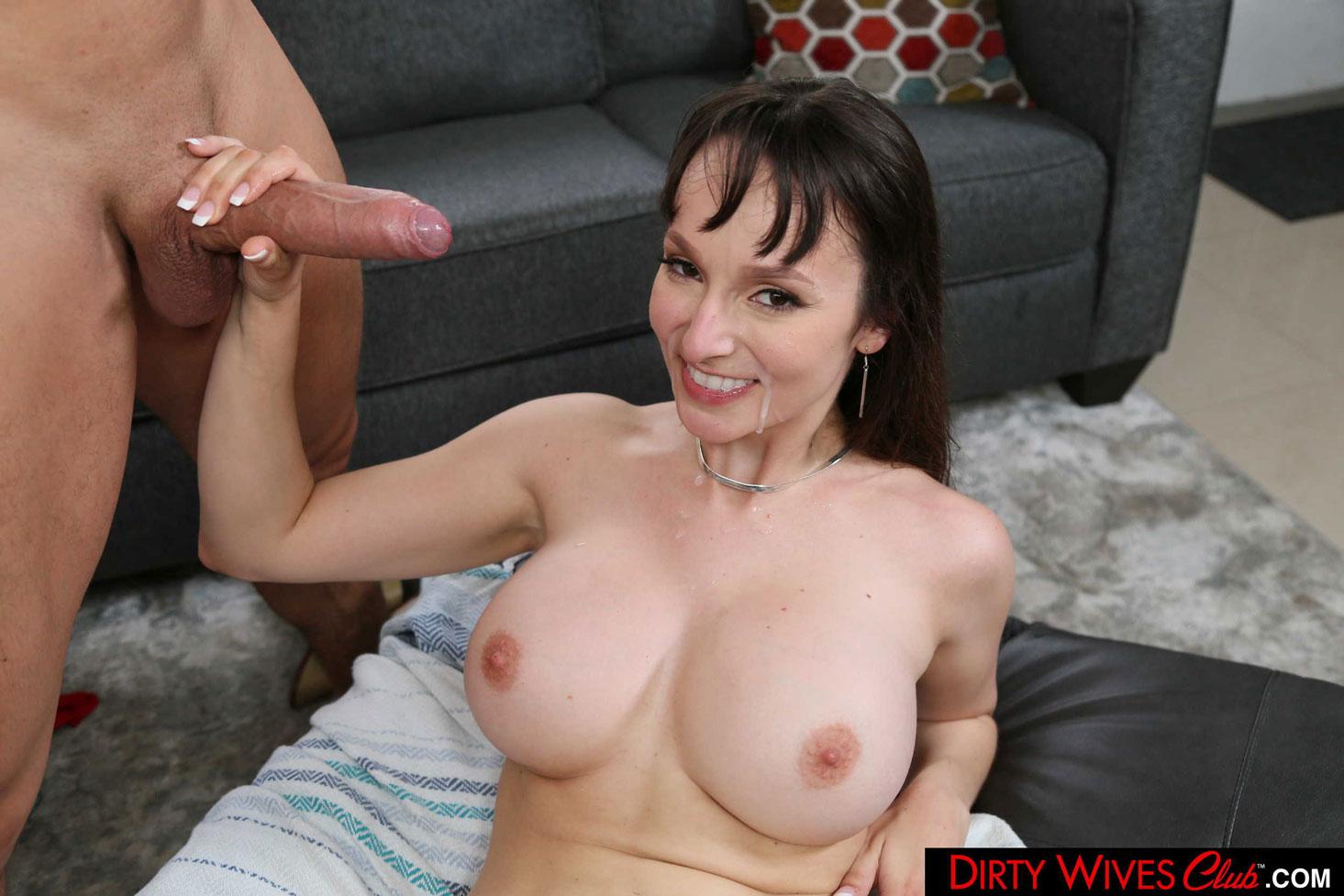 Girlsway - Lexi Luna Dirty Wife Rides Big Cock 12