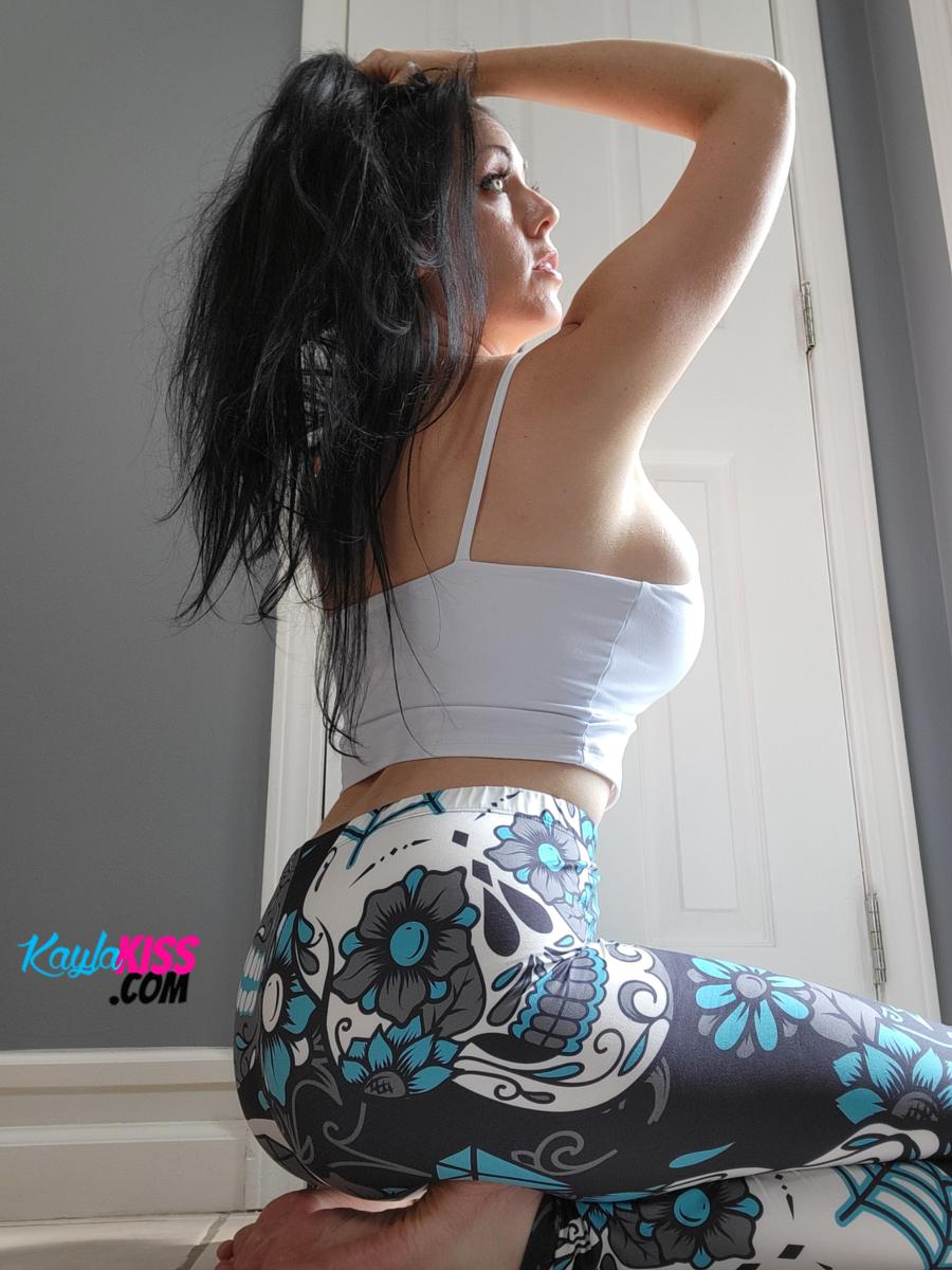 Kayla Kiss - Tank Top And Leggings 11