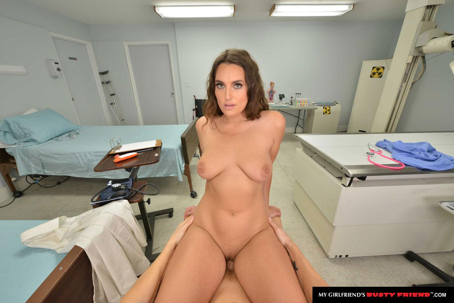 Girlsway - Nolina Nyx Nurse Rides Big Dick 5