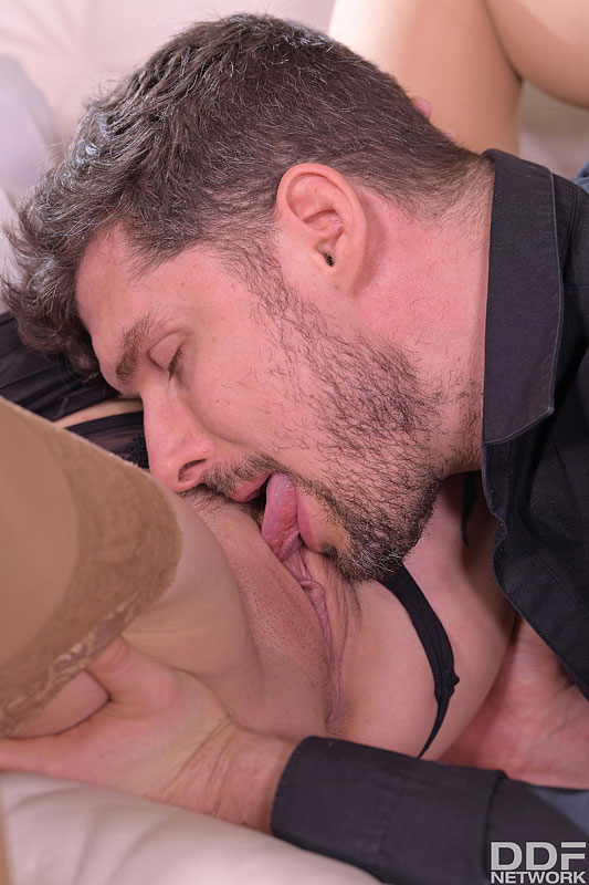Euro Teen Erotica: Kristof Cale & Liya Silver - Liya Silver and Shalina Devine Close a Deal in a Wild Anal 3some 7