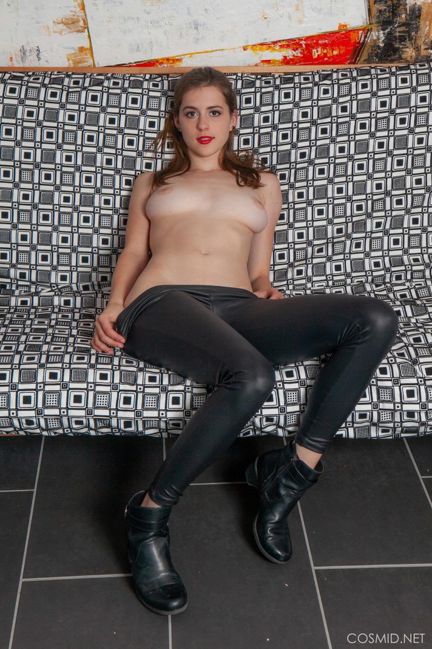 Cosmid: Eva Green Black Pants  6