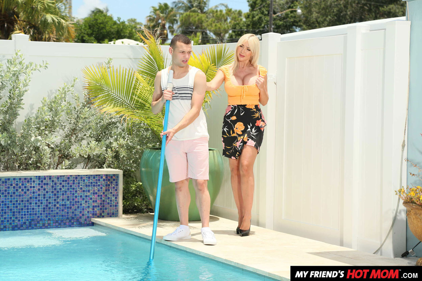 Girlsway - Victoria Lobov Rides Young Cock 2