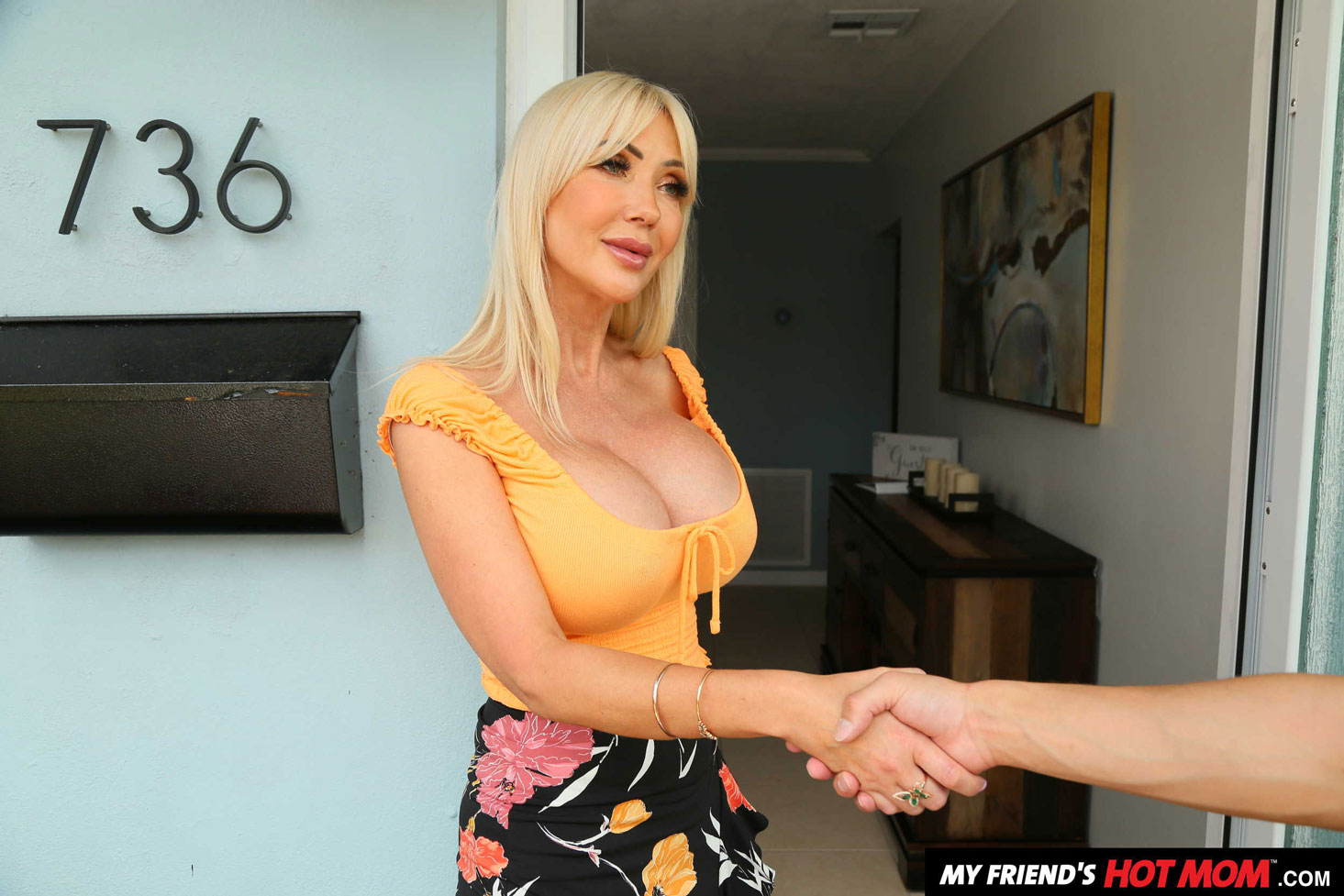 Girlsway - Victoria Lobov Rides Young Cock 1