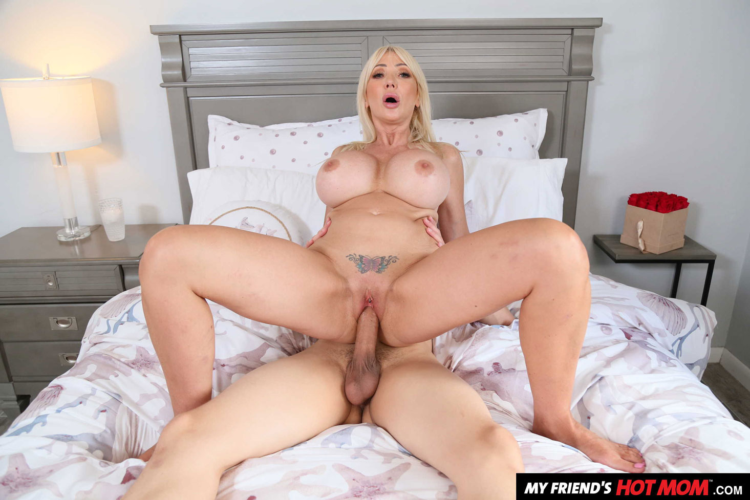 Girlsway - Victoria Lobov Rides Young Cock 7