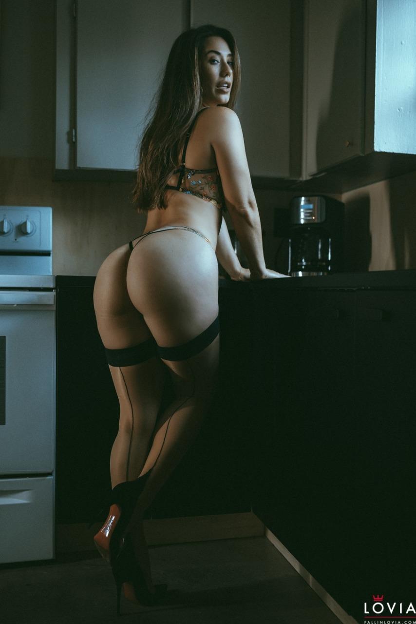 Eva Lovia - Kitchen Strip Tease 2