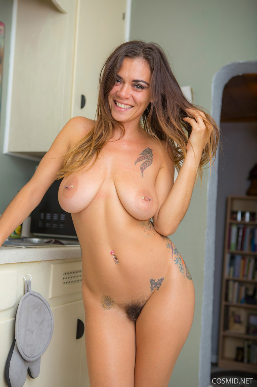 Cosmid: Veronica Buleau Big Boobs And Hairy Pussy  12