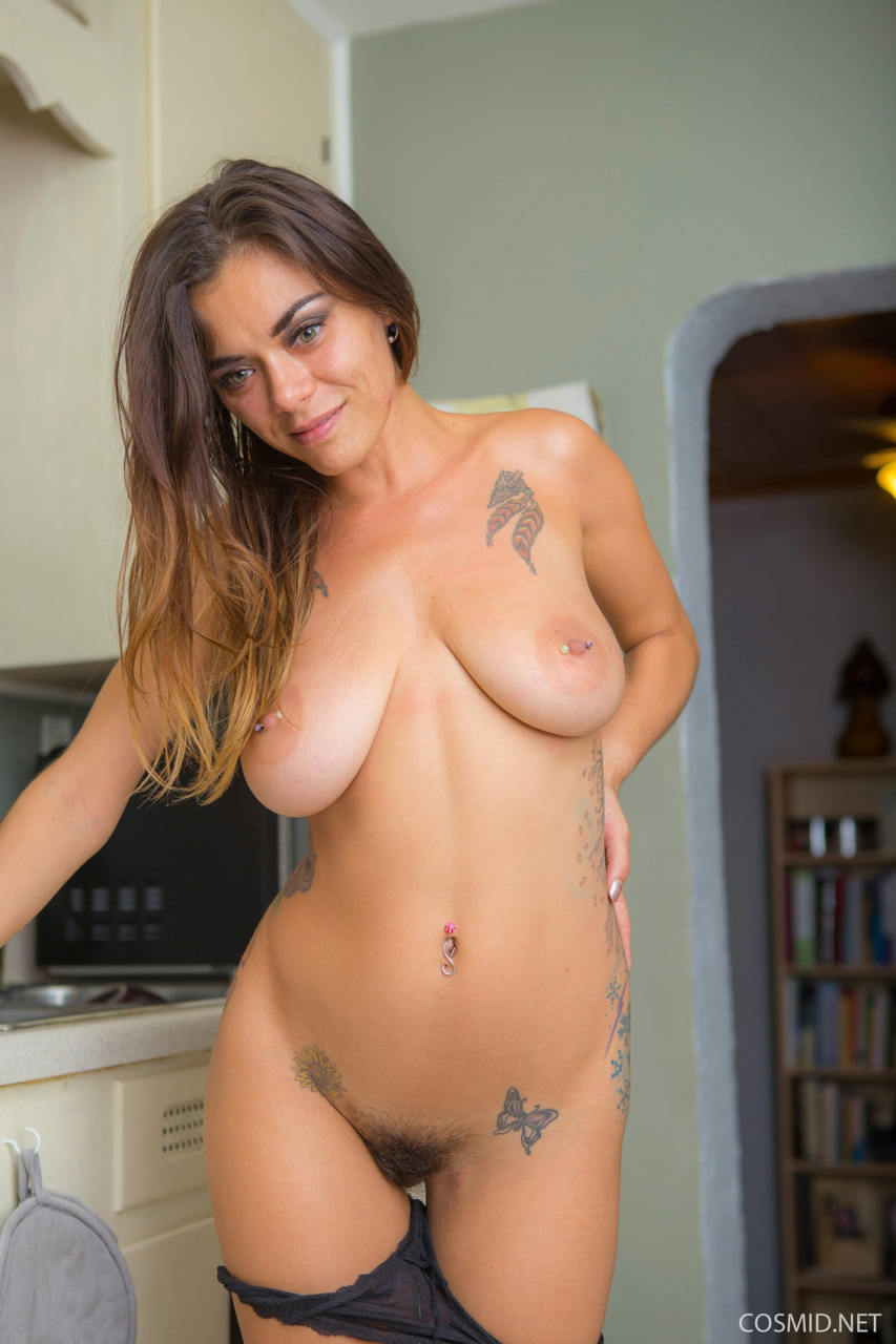 Cosmid: Veronica Buleau Big Boobs And Hairy Pussy  10